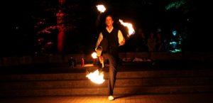 Neuselingsbach Feuershow
