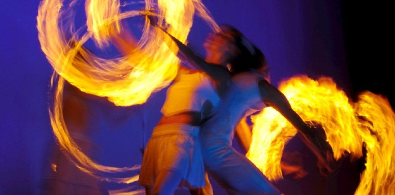 Feuershow Duo