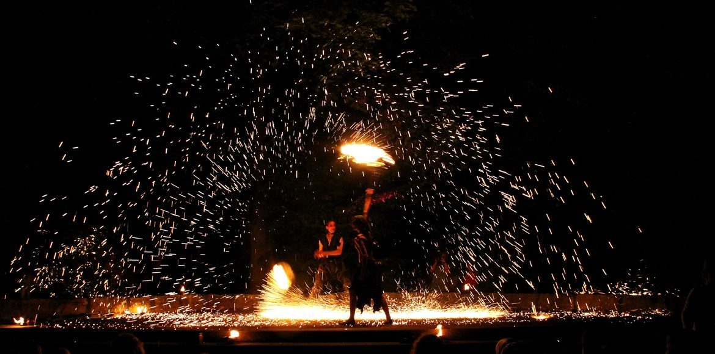 Feuershow Hochzeit