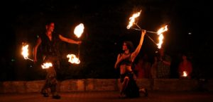 Fürth Feuershow