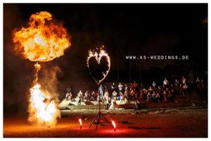 Trailer für Feuershow