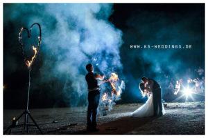 Hochzeit Feuershow Burg Abendberg