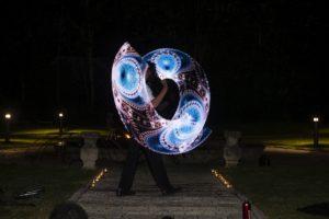 Lasershow für Hochzeit