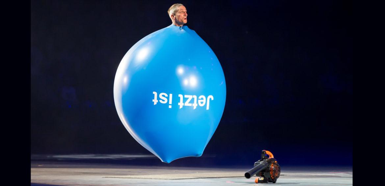 Riesenballon bedrucken