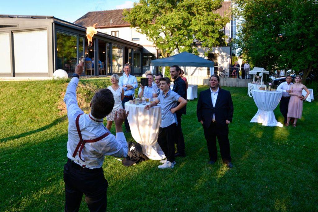 Hochzeit Seerose